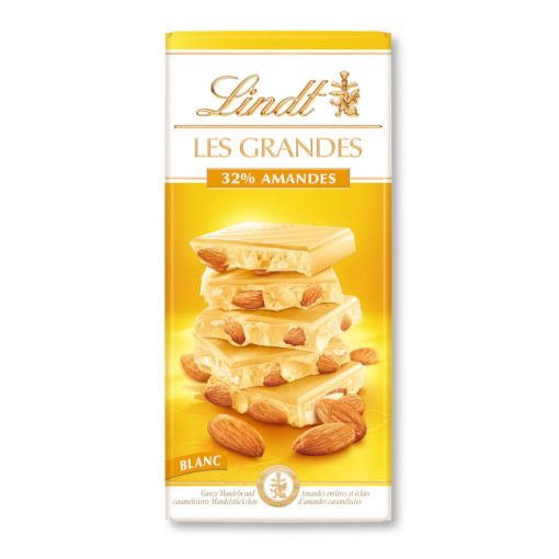 Lindt white 32% almonds