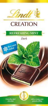 Lindt refreshing mint dark