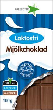 Laktosefri melkesjokolade