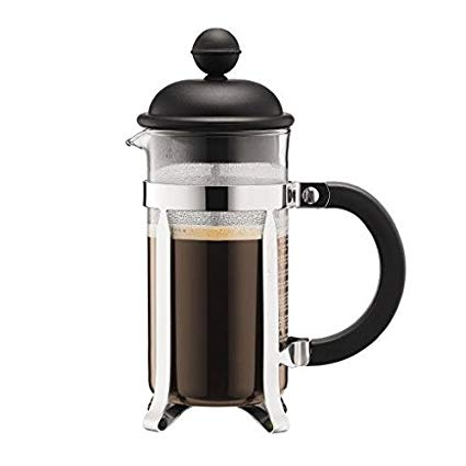 Caffettiera 3 cup svart
