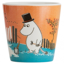 Cup Moomin painting