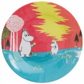 Moomin red plate