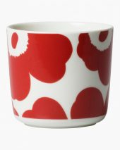 Unikko cup rød/hvit 2dl