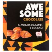 Awesome almonds caramel