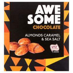 Awesome almonds caramel