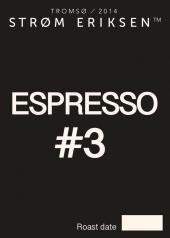 Espresso #3 Strøm eriksen