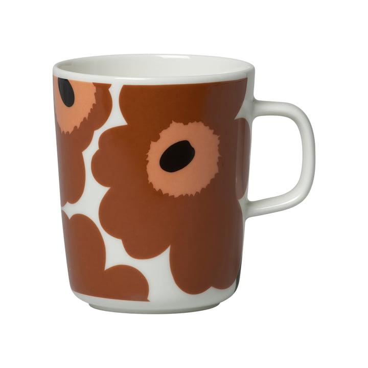 Unikko mug 2,5 dL rødbrun