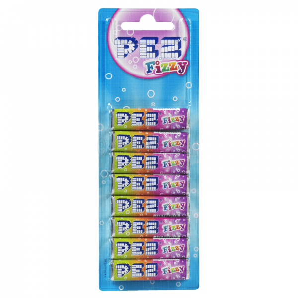 PEZ refill 8pack Fizzy