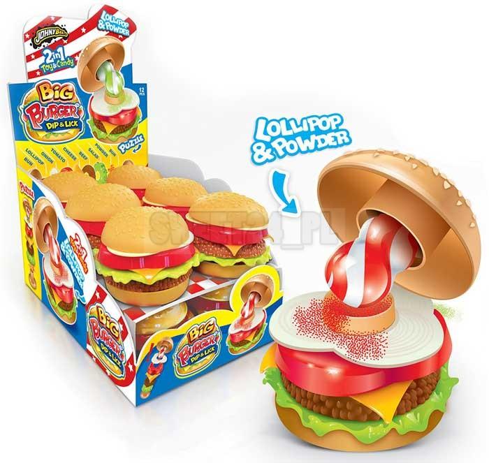 Big burger (dip & lick)