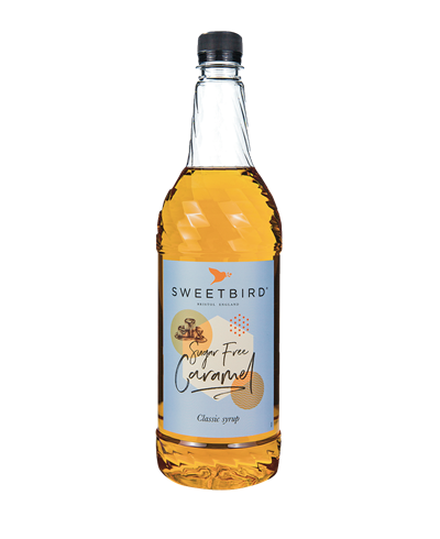 Sweetbird Sukkerfri caramel 1L