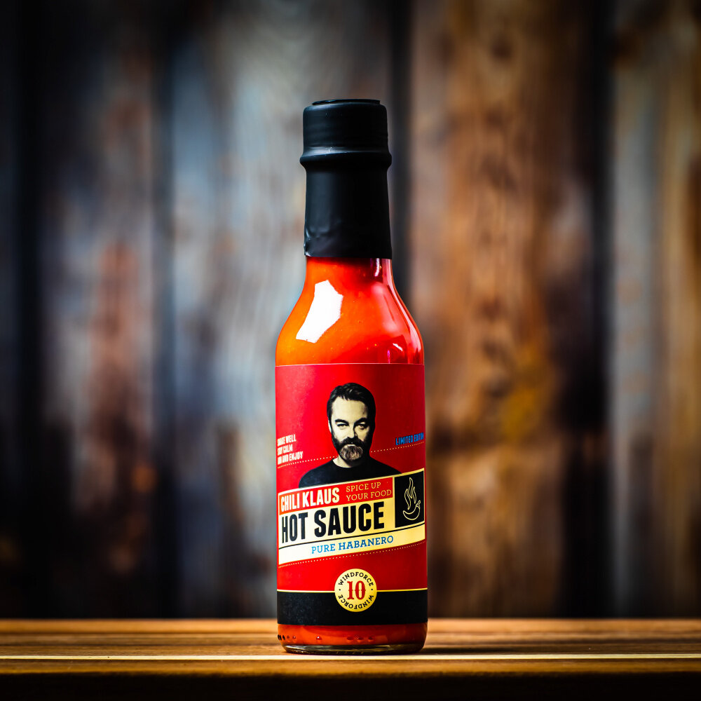 Chili Klaus - Hot sauce a smoky ghost flavour