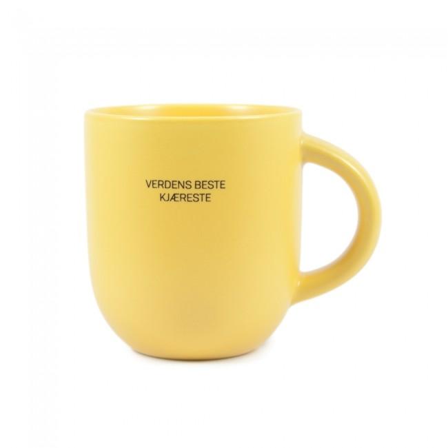 Lea - VB kjæreste matt gul