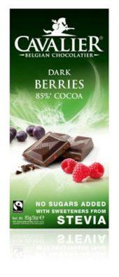 Cavalier plate - Dark berries 85%