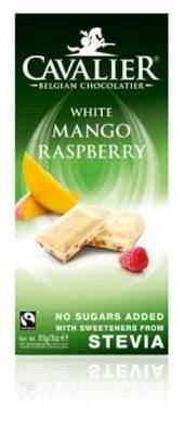 Cavalier plate - White mango raspberry