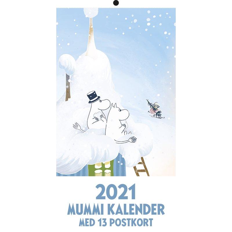 Mummi postkortkalender 2021