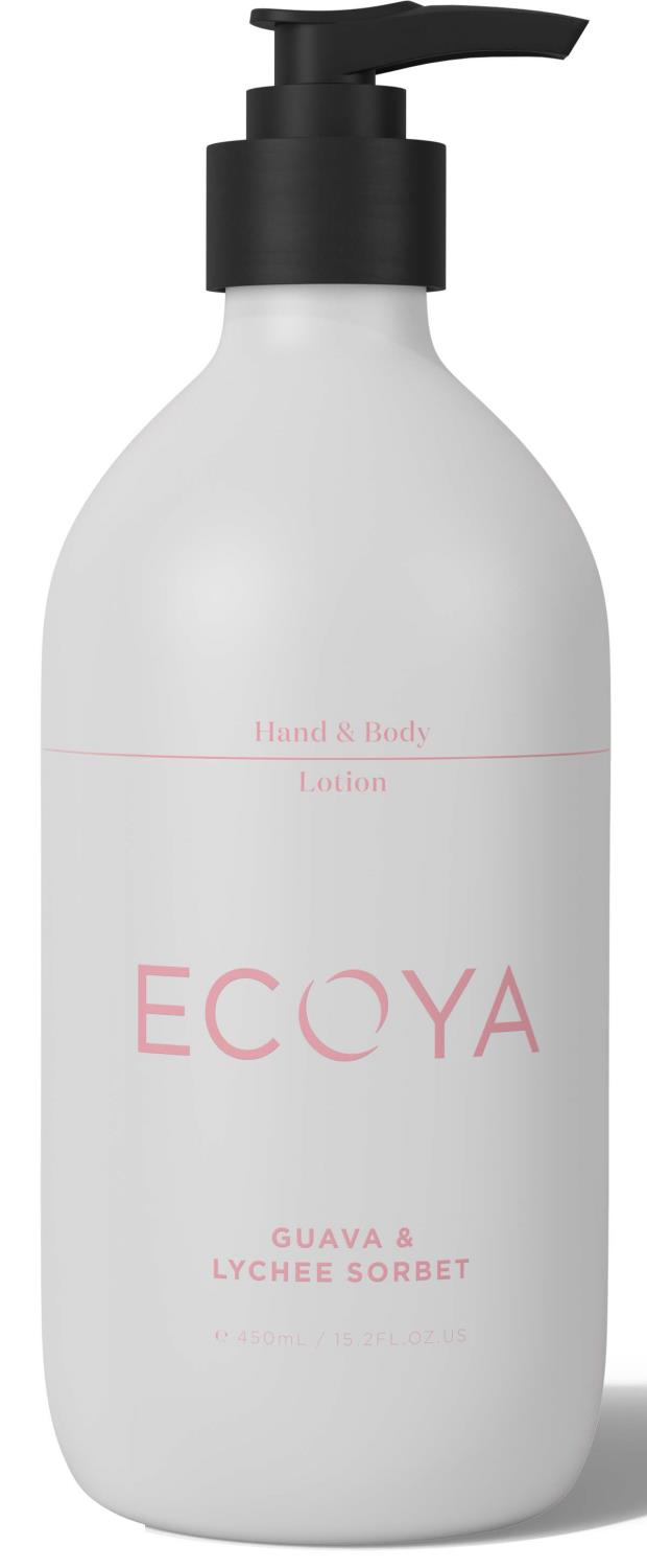 Hand & body lotion guava & lychee sorbet