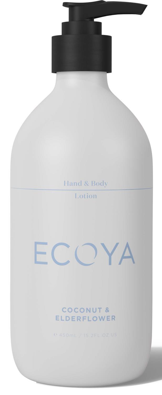 Hand & body lotion coconut & elderflower