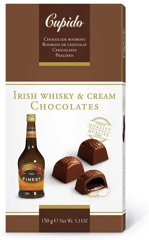 Cupido irish whisky & cream sjok.