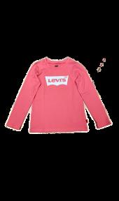Levis - Longsleeve Batwing Tee, rosa