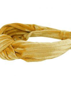 Creamie - Hårbånd Velve, Harvest Goldt
