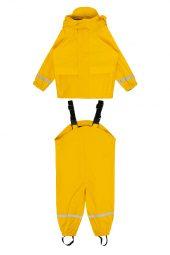 Hust&Claire - Regntøy med seler, gul