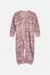 Hust&Claire - Heldress Mala med elg, dusty rose rosa