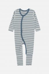 Hust&Claire - Mulle nattdrakt med striper, blå
