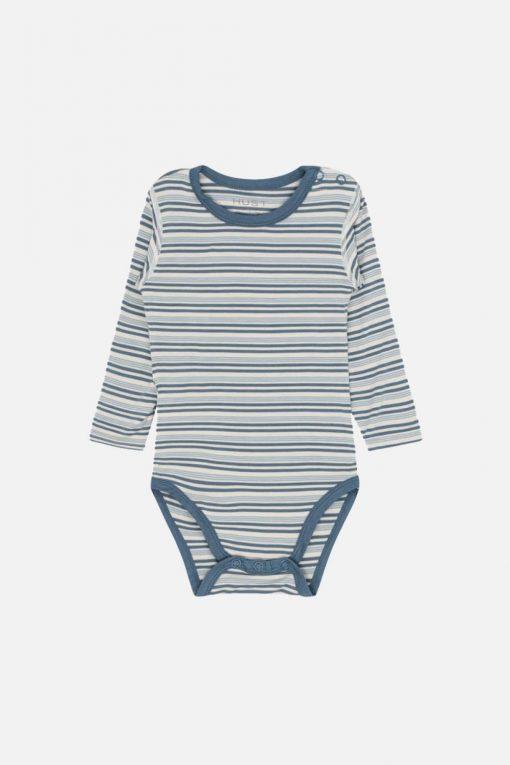 Hust&Claire - Buller body med striper, blå