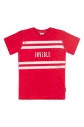 Hust&Claire - Alwin T-shirt, rød