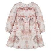 Patachou - Kjole med blomsterprint, rosa