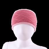 Kivat - Pannebånd med rutemønster, 14 rosa