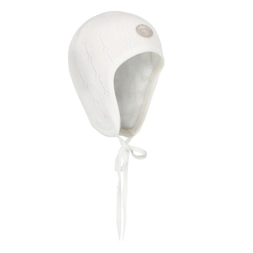 Lillelam - Lue basic tynn pike, hvit