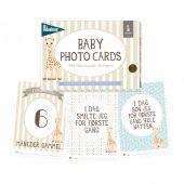 Milestone - Baby Photo Card, Sophie la Girafe