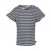 Creamie - T-skjorte Stripe SS, total eclipse