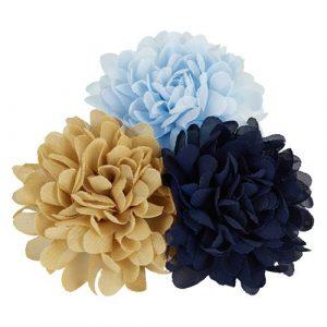 Creamie - Hårstrikker Flowerpins