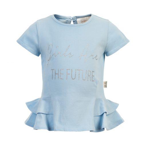 Creamie - T-Shirt Girl SS, celestial blue