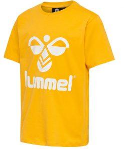 Hummel - T-shirt Tres, gul