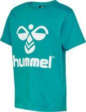 Hummel- T-shirt Tres, turkis
