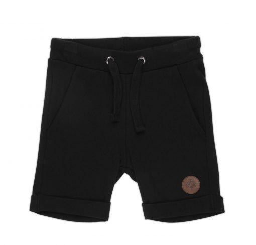 Gullkorn - Villvette Shorts, Ravnsort