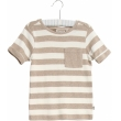Wheat - T-shirt Hubert, melange sand