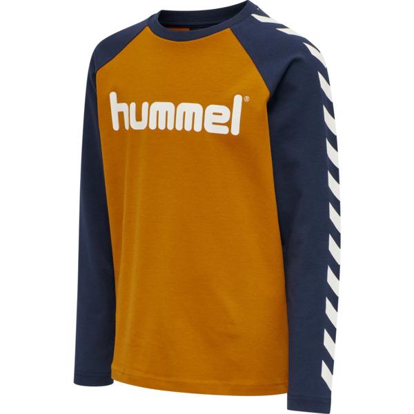 Hummel - Boys genser, pumpkin spice