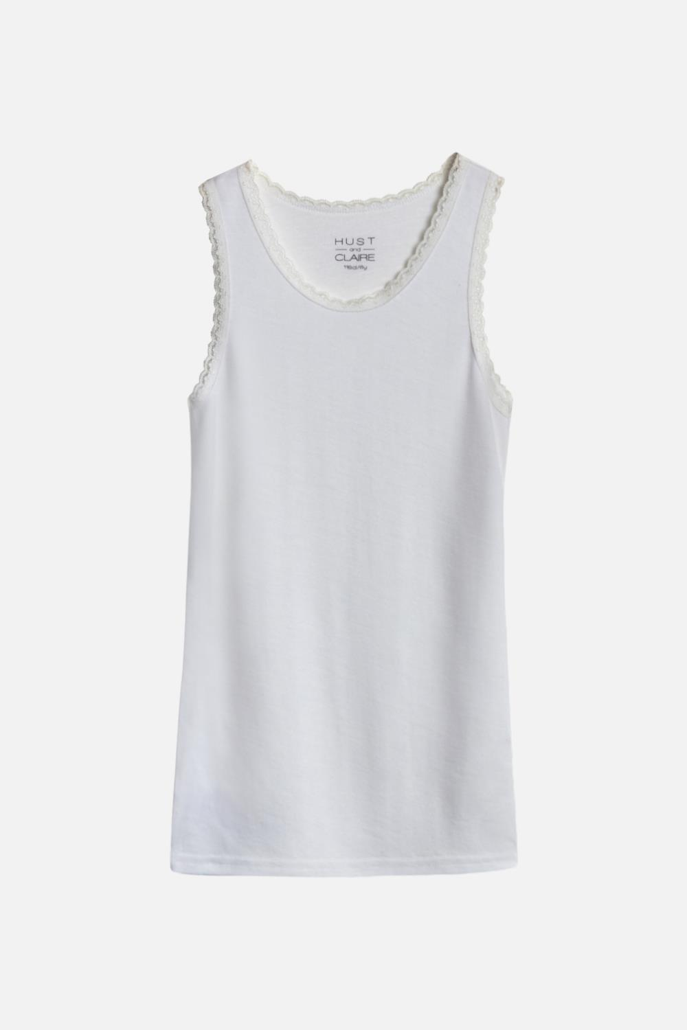 Hust and Claire - Singlet Faith, Off white