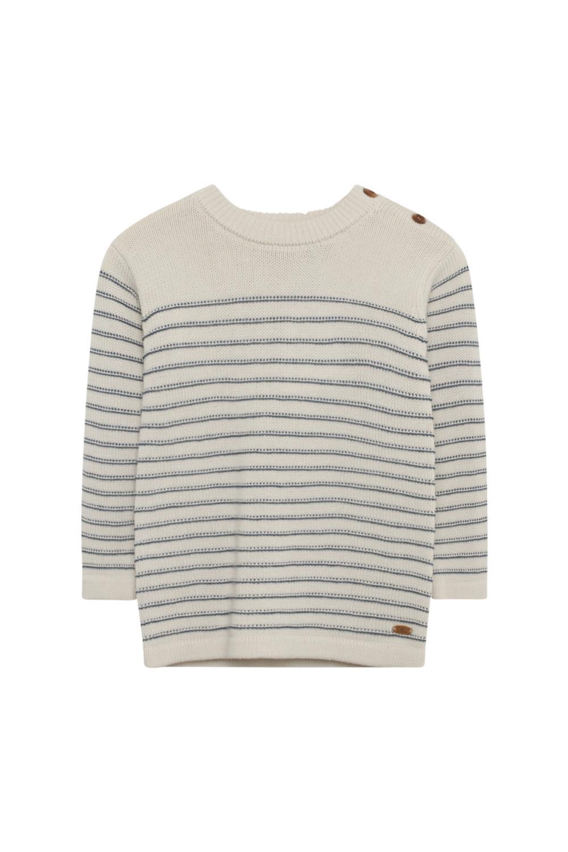 Hust and Claire - Strikket genser med striper, Peder