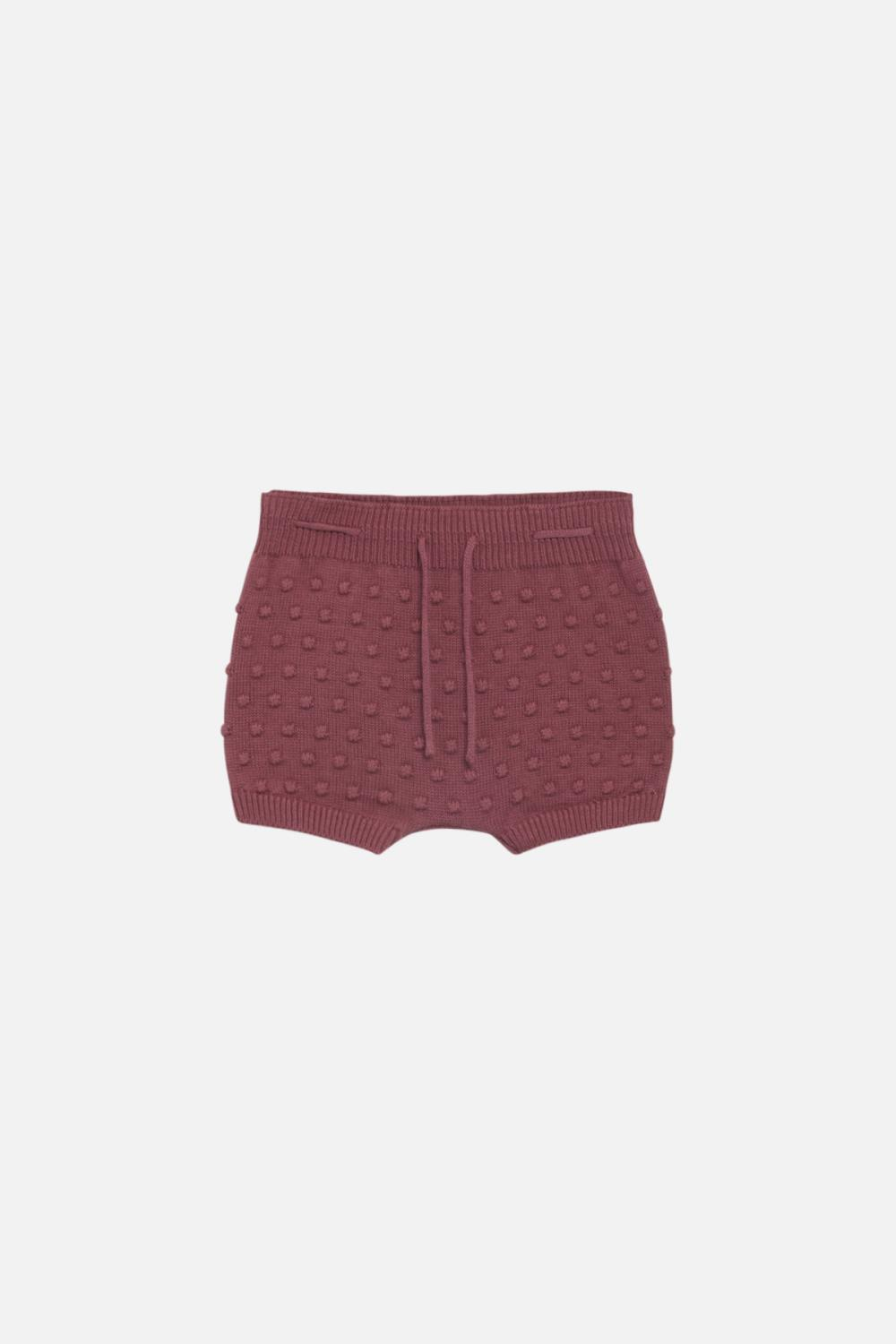 Hustand Claire - Shorts Heli, red rouge