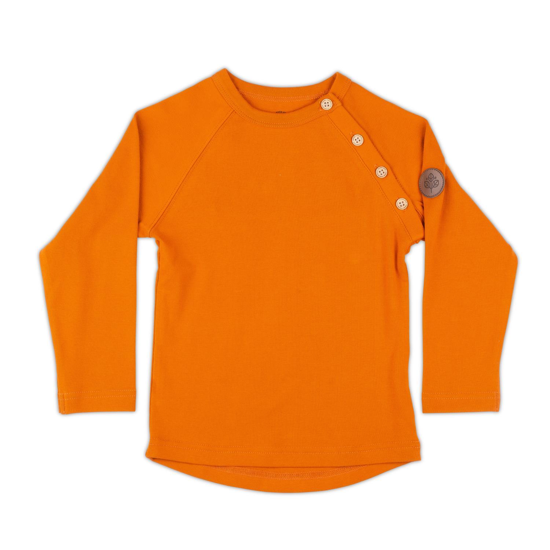 Gullkorn - Villvette Longsleeve Brent Orange