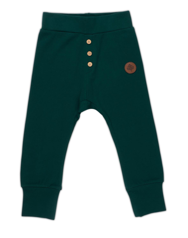 Gullkorn - Villvette Baby Bukse Dyp Grønn
