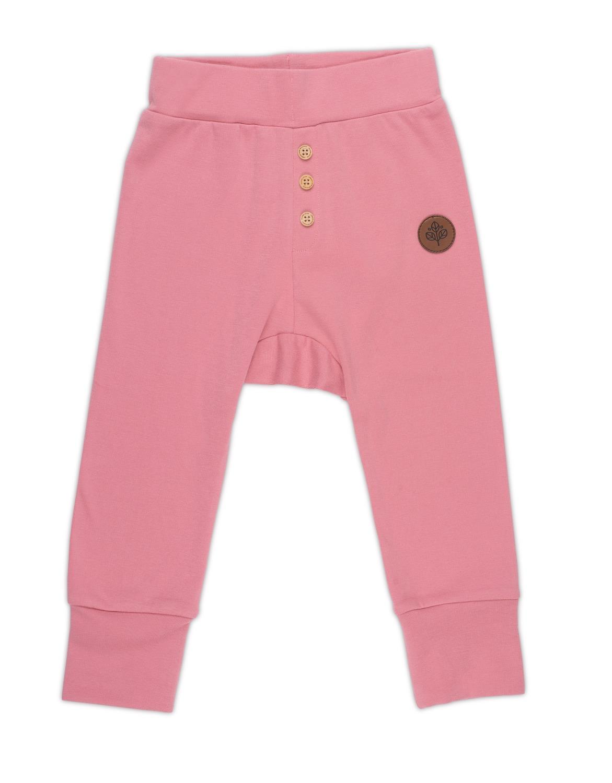 Gullkorn - Villvette Baby Bukse Rosa