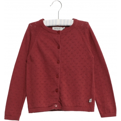 Wheat - Cardigan Maja, burgundy