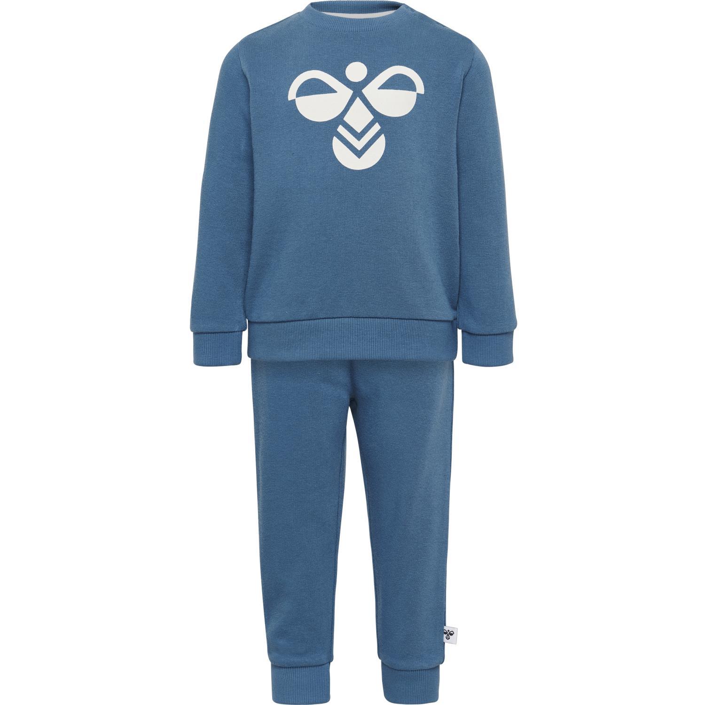 Hummel - Joggedress Arin crewsuit, blå