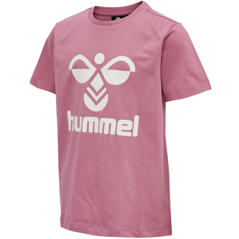 Hummel - Tres T-shirt, heather rose